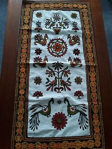 Hansiba Hand Embroidered Wall Hanging Artisan Of Gujirat Indigenous...