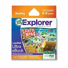 LeapFrog Leappad Explorer Game Learn to Read Adventure Stories  BRAND NEW**