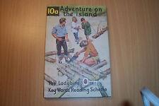 LADYBIRD BOOK 10 A ADVENTURE ON THE ISLAND 1966  2/6 PETER & JANE