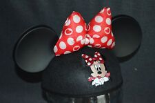 New listing Disney World/ Disneyland Exclusive Minnie Mouse w/ Bow Mickey Ears Hat