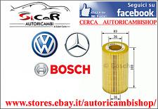 Filtro olio MERCEDES CLASSE C E (W124 - W210) E250 D VITO (638) BOSCH 1457429278