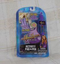 Hannah Montana Activity Pad & Musical Pen SEALED Disney