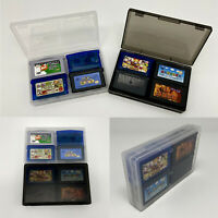 For GameBoy GBA GBASP Game Cartridge Cards Storage Case Organizer Box Compact