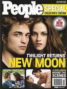 People Magazine Special Collector's Edition November 2009 New Moon Twilight Retu