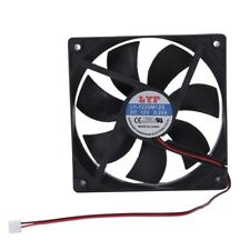 120mm x 25mm 12V 2Pin Sleeve Bearing Cooling Fan for Computer Case W8Q4