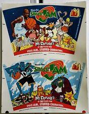 SPACE JAM MICHAEL JORDAN Bulls 1996 McDonald's Display Poster Stuffed Character2