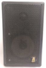 Teledyne Acoustic Research AR-1 MS 2-way Metal Cabinet Tested Working *As-is*