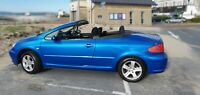2005 Peugeot 307CC 2.0L Blue Manual Petrol Convertible