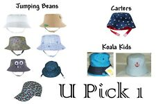 Summer Sun Hat Bucket BOYS Beach Fun Cute Swim Water Pool Kids swim Wide Brim