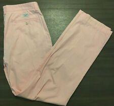 Vineyard Vines Mens 34W x 34L Flat Front Light Pink Club Pants Casual Trousers