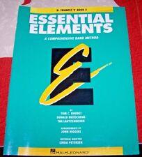 Essential Elements -  Bb TRUMPET - Book 2