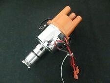 VW BEETLE KOMBI ETC ELECTRONIC DISTRIBUTOR READY TO RUN CHROME BODY RED CAP