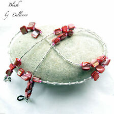 Glass Silver Plated Costume Eyeglass Chains & Holders