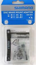 Shimano SM-MA-F180P/P2 Disc Brake Adapter Front 180mm, PM Caliper & Fork