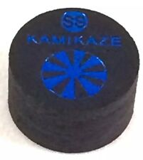 Kamikaze Black Layered Cue Tips  14 MM  (Super Soft) (1 Tip)  Fast Shipping.....