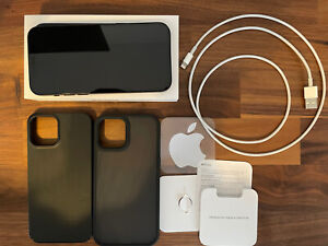 iPhone 12 Black 64 GB EXTRAS Included Mint Condition T-Mobile