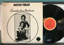 SANDRA AND ANDRESS DUTCH TREAT~RARE PRIVATE LABEL INDO-POP LP~RED BULLET 3004