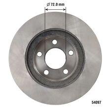 Disc Brake Rotor-XLT, VIN: E, GAS, SOHC, 4WD, FI, MFI, Natural, 12 Valves Front