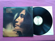 Vinyl 2x LP 33T / Yoko Ono - Approximately Infinite Universe / FR 1973 / EX-