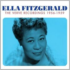 ELLA FITZGERALD - VERVE RECORDINGS 3 CD NEU