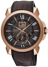 Reloj Hombre Seiko Premier Edición Especial SNP146P1 de Cuero Marrón
