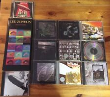 Lot of 12 sets of CDs by Led Zeppelin