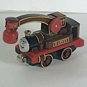 Thomas The Train Harvey Tank Engine Diecast Metal Rare Take and Play
