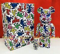 Medicom Be@rbrick 2018 Keith Haring 400% + 100% bearbrick Set 2pcs