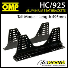 HC/925 OMP SEAT SIDE MOUNT BRACKETS (TALL MODEL) ULTRA STRONG 6mm ALUMINIUM