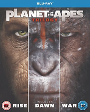 Planet of The Apes Trilogy (RISE-DAWN-WAR) (BLURAY) Sealed