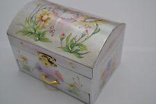 Girls Ballerina Jewellery Musical Box Flower Fairy Flower girl gift, unwanted