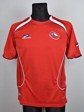 CHILE 2007-09 Home Shirt Small Brooks Trikot Mallot Football Soccer Camiseta S