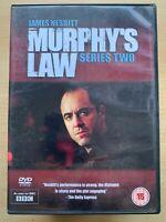Murphy's Law Season 2 DVD Box Set British TV Crime Thriller Drama Series