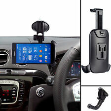 Car Rigid Arm Suction Vehicle Mount + Holder For Sony Xperia Z5 Compact Premium