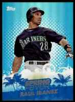 2014 TOPPS SPRING FEVER RAUL IBANEZ SEATTLE MARINERS #SF-29 INSERT