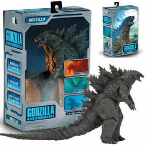 """NECA 2019 Godzilla King Of The Monster 7"""" PVC Deluxe Action Figure Model Toy"""