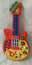Spin Master 2003 The Wiggles Touring Party Limited  Musical Red Guitar Music Toy