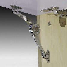 1Pair Cabinet Stay Lid Folding Flap Lift Up Down Guide Slot Kitchen Door Tool/'