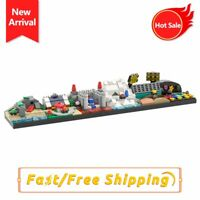 MOC Mario Kart 64 Skylineby Racetrack Building Block Brick Kid Birthday Gift Toy