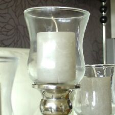 1x Teelichthalter dickes Glas F. Kerzenleuchter Kerzenständer Teelichtaufsatz