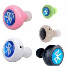 The Mini Wireless Stereo Bluetooth Earbud Headset For iPhone,Galaxy Smart Phone