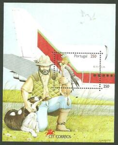 Portugal 1994 - Falconry S/S MNH
