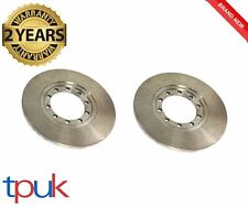 TRANSIT 2.4 RWD REAR BRAKE DISCS MK7 TDCi 2006 ON PER PAIR DISC BRAND NEW