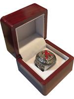 Alabama Crimson Tide 2009 - 2015 Saban Silver Plated National Championship Ring