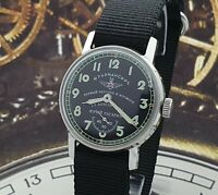 Watch Sturmanskie Black Dial Dress Mechanical Watch Yuri Gagarin Vintage Style