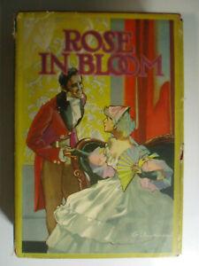 Rose In Bloom, Louisa May Alcott, DJ, Saalfield, 1932