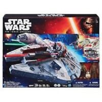 Star Wars MILLENNIUM FALCON from THE FORCE AWAKENS w/ 3 Figures by Hasbro