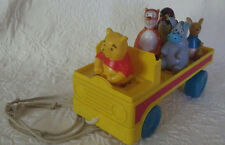 Car Vintage Pieces Missing Winnie the Pooh Tigger Owl Donkey Kangaroo SEE PICTUR