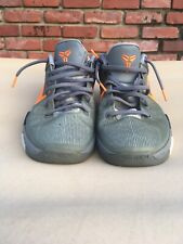 2012 Nike Zoom KOBE VII 7 System Predator Pack Wolf Grey-Orange Men's Size 10.5