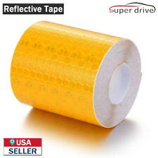 10ft Car Reflective Safety Warning Conspicuity Tape Film Sticker Decal Orange
